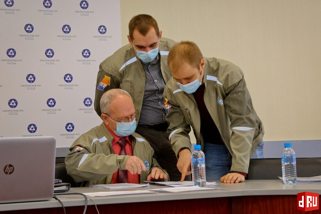 rppk-foto-v-2-1024x683 Отраслевые эксперты подтвердили высокий уровень развития Производственной системы «Росатом» на Смоленской АЭС