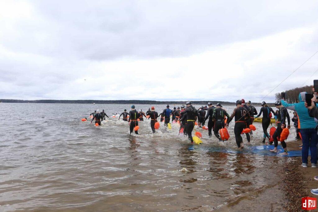 zaplyv-na-otkrytoj-vode-2-1024x683 «Иверская миля» на «атомном море» дала старт сезону открытой воды-2021 в России