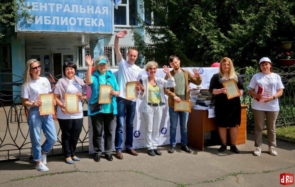 begushhaja-kniga-v-desnogorske-davydov-viktor-28-1024x649 27 мая десногорцы приняли участие во Всероссийской социокультурной акции «Бегущая книга»